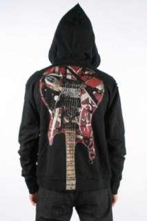 Edward Van Halen   Frankenstein Guitar W/Stars Mens Zip Up
