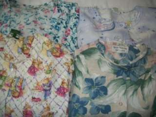 Medical Dental Scrubs Vet Lot 12 PATTERN LS Jackets Coats MEDIUM MED