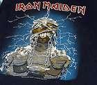 MAiDEN Power Slave Tank Top t shirt concert tour M L WORLD SLAVERY