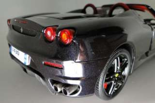 Rare Metallic Black High End/High Detail Ferrari F430 SPIDER by BBR 1
