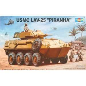 Trumpeter Scale Models   1/35 USMC LAV 25 Piranha (Plastic Model