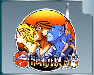 THUNDERCATS Group Logo vinyl decal Lion O Panthro