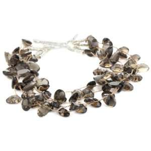 York Oval Faceted Smoky Quartz Four Strand Bracelet, 7.25 Jewelry