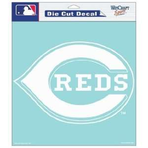 MLB Cincinnati Reds 8 X 8 Die Cut Decal