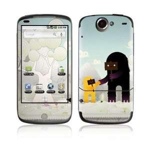 HTC Google Nexus One Decal Vinyl Skin   Snow Monsters