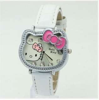 Hello Kitty Girl Ladies wristwatch bowknot cat design watches