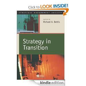 Strategy in Transition (Strategic Management Society