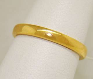 4a96c85c7 ... Tiffany & Co. Wedding Band Ring in 22kt Gold Authentic ...