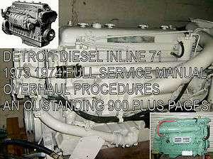 INLINE Service Manual ENGINE MOTOR overhaul procedures 900pgs