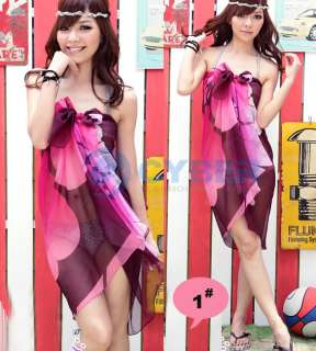 Sexy Pareo Dress Sarong Beach Bikini Cover Up Scarf
