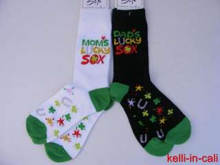 LUCKY SOCKS for MOTHER FATHER FUN GIFT to Make MOM DAD Smile RESULTS