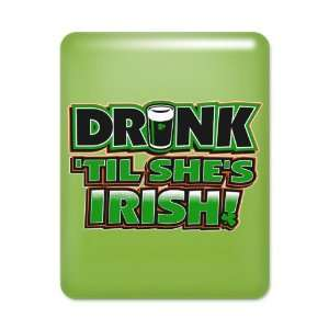 iPad Case Key Lime Drinking Humor Drink Til Shes Irish St Patricks