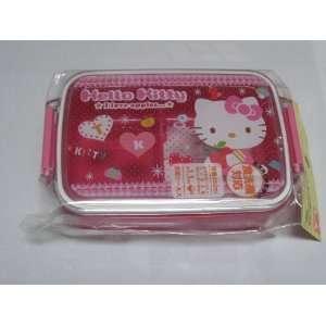Japanese Hello Kitty Microwavable Bento Box #1340 (With Sanrio License