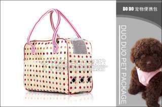 pet dog/cat bag doggie travel carrier handbag portable backpack purse
