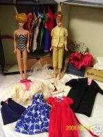 Vintage 1958 Bubble Cut Barbie Midge Dresses & More