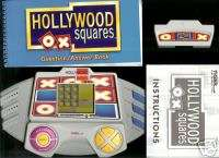 TIGER ELECTRONICS HOLLYWOOD SQUARES GAME SHOW HANDHELD