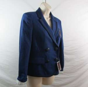 Coach Womens Poppy Collection Morgan Blazer Sport Coat Jacket Retail