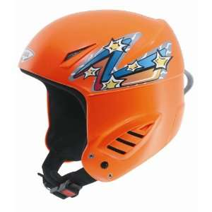 UVEX Snow Jet Junior Helmet,Orange Neon,M fits 57 58cm