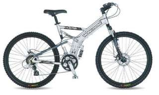 Mongoose 26 Blackcomb Dual Disc Full Suspension Bike
