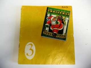 Vintage Golden Press Christmas Book Lot of 6 Childrens