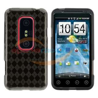 13in1 Set Case Screen Film Cover Battery for HTC EVO 3D