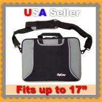Neoprene 15 Laptop Notebook Case Bag Sleeve for Dell HP Macbook Black
