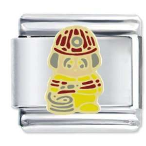 Cute Little Firefighter Italian Charms Pugster Jewelry