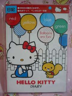 Sanrio Hello Kitty Diary Book Schedulte Datebook Latest