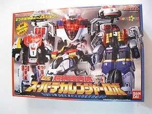 Power Ranger Dekaranger Super Dekaranger Robot Toysrus Ver. Megazord
