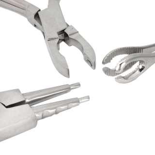 Piercing Kit Gun Tool Needle Tattoo Navel Ear Tongue Jewelry US Stock
