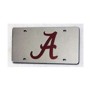 Alabama Crimson Tide Laser Auto Tag