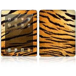Tiger Skin Design Apple iPad Decal Skin