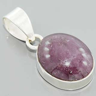 Star Ruby Gemstone 925 Sterling Silver Pendant Jewelry New