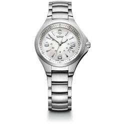Swiss Army Womens Base Camp White Mother of Pearl Dial
