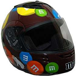 DOT Modular Full Face Brown M&M Motorcyle Helmet