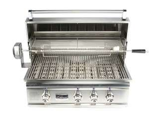 32 Lighted TR Series Stainless Steel BBQ Grill Natural Gas   TRL32NG