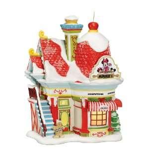 Dept. 56 Disney Mickeys Christmas Village Minnies Bakery
