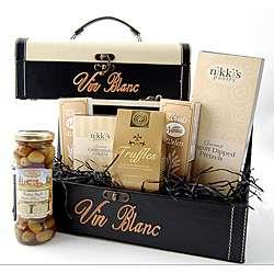Elegant Wine Tote Gift Basket