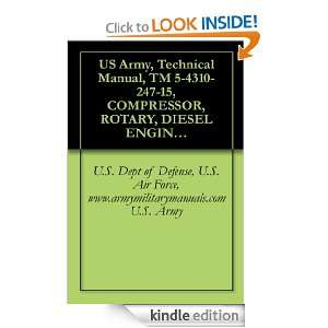 Technical Manual, TM 5 4310 247 15, COMPRESSOR, ROTARY, DIESEL ENGINE