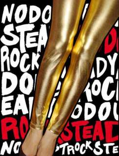 New Shiny Korea Leggings Tight Women Rock Pants