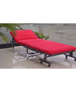Microsuede Hideaway Bed  Overstock