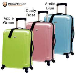 Travelers Choice Freedom 25 inch Hard Shell Spinner Upright