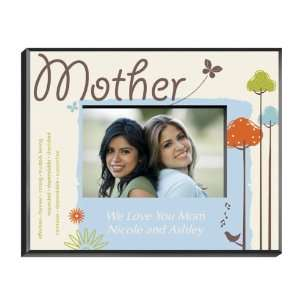 Personalized Mother Frame   Natures Song Baby