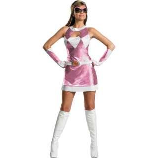 Power Rangers Pink Ranger Sassy Deluxe Adult Halloween Costume