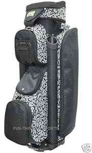 Ladies Golf Bag Cart Bags Beautiful New 2012 by RJ Circle Women