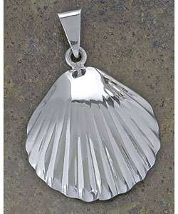 Sterling Silver Sea Shell Pendant (Mexico)