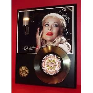 AGUILERA GOLD RECORD LIMITED EDITION DISPLAY