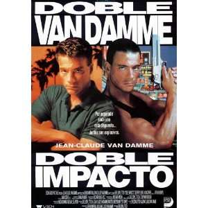 Double Impact (1991) 27 x 40 Movie Poster Spanish Style A: