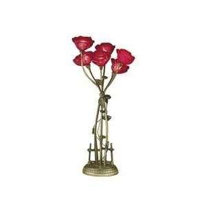 Dale Tiffany 6 Light Table Lamp TT101258