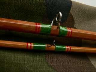 Pezon & Michel canne mouche pêche moulinet BAMBOU REFENDU rod bamboo